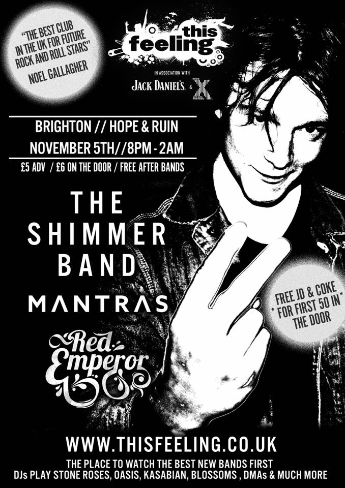 GIG ANNOUNCEMENT: The Shimmer Band